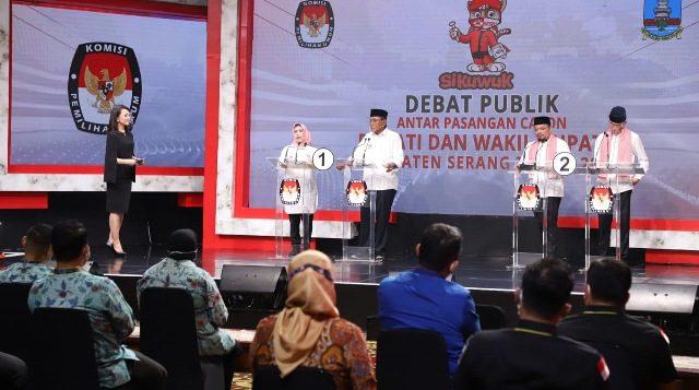 Panas di Debat Perdana