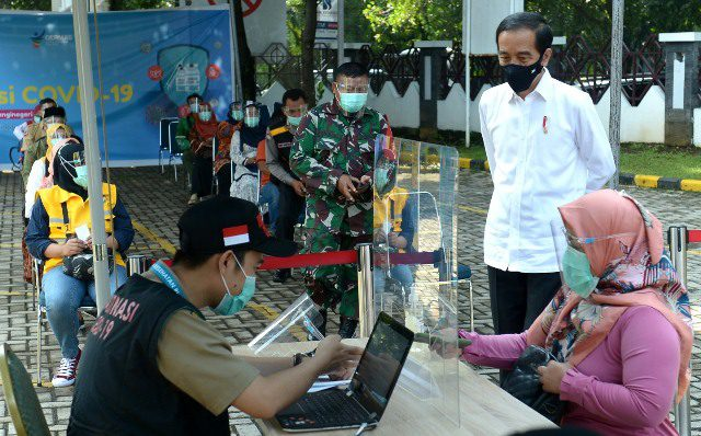 Jokowi Siap Divaksin Pertama